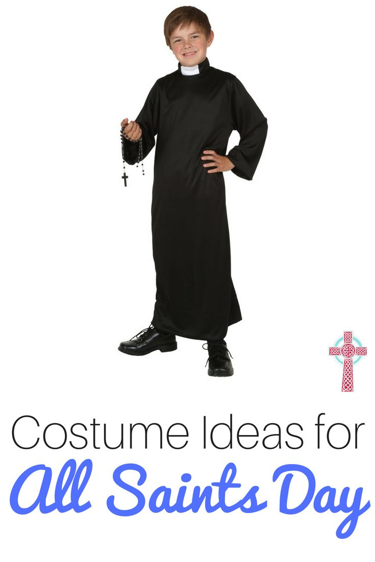 simple costume ideas for all saints day   catholic homeschooling