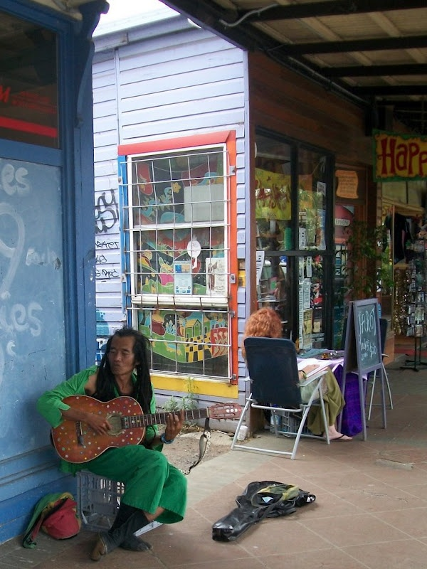 Australia - Nimbin, Funniest Guy I've ever met