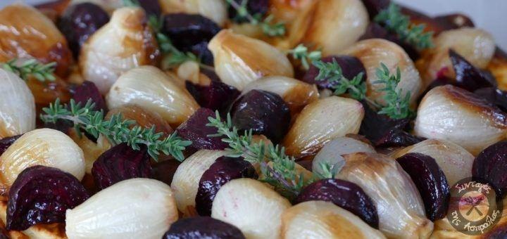Αρμυρή τούρτα με τυριά και ψητά λαχανικά – Συνταγές της Ασπρούλας