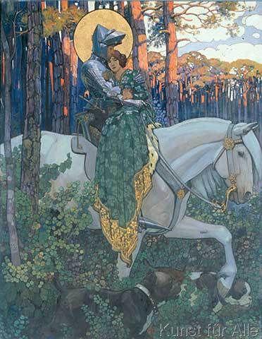 Maximilian Liebenwein - Die Legende vom Heiligen Georg: Die Errettung