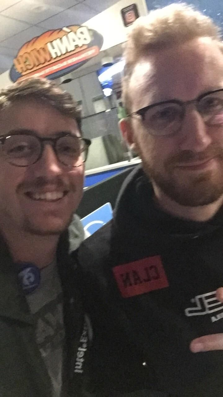 With all these pictures from IEM Oakland let's not forget the GOAT