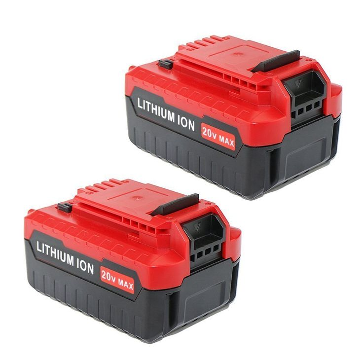 Neretva 2 Pack 4.0AH MAX Lithium 20V Battery for Porter Cable PCC685L-2 PCC680L 20-volt Cordless Power Tools