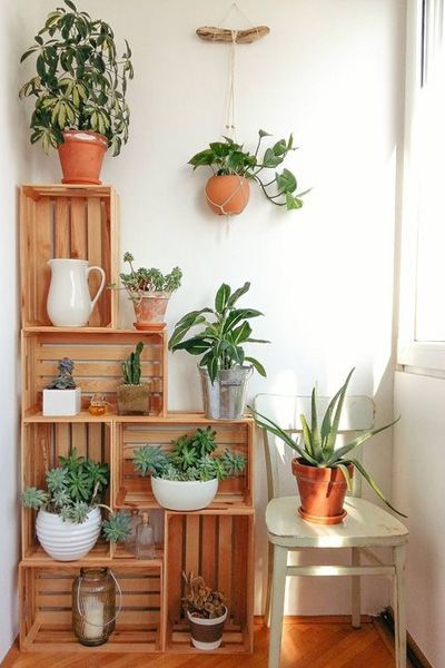 Wat kun je allemaal maken met houten kratten?   Praxis Blog