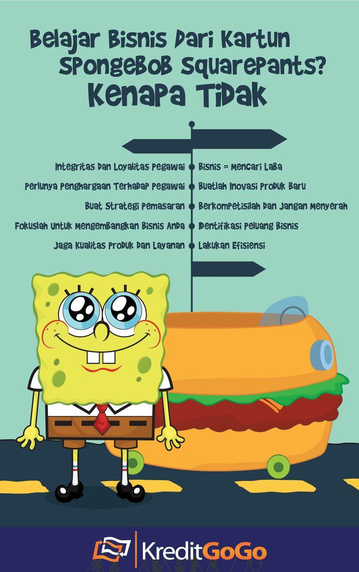 Belajar bisnis dari SpongeBob kenapa tidak?