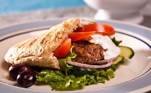 Burgers à la grecque d'Épicure