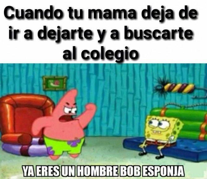Ya Eres Un Hombre Bob Esponja Xdxd Memes Divertidos De Bob Esponja Memes Divertidos Memes