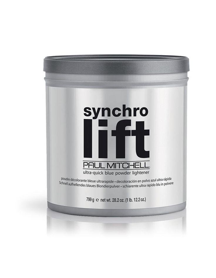 Paul Mitchell synchro lift ultra-quick blue powder Lightener 799g.