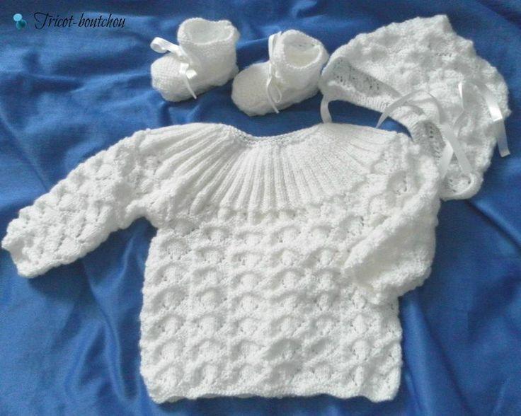 tricoter une layette pour bebe