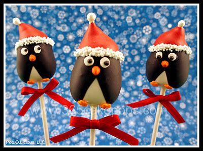 Christmas penguin cake pop- how cute! http://4.bp.blogspot.com/-ox0LwBUXUT8/TtcaYVqi97I/AAAAAAAABhg/Yim4ZXpJbkc/s400/Penguin%2BCake%2BPops_brdr.jpg