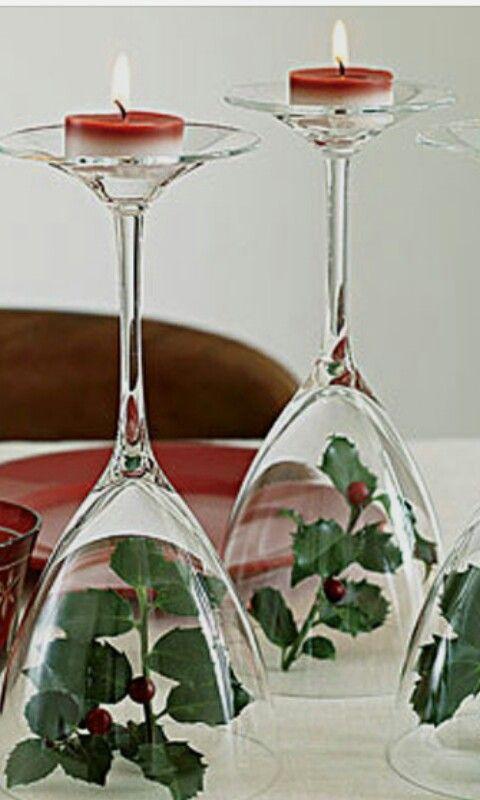 Copas para decorar la mesa ;)