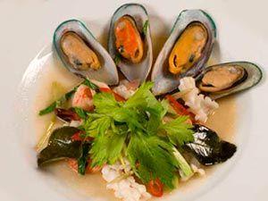 Рецепт салат из мидий простой