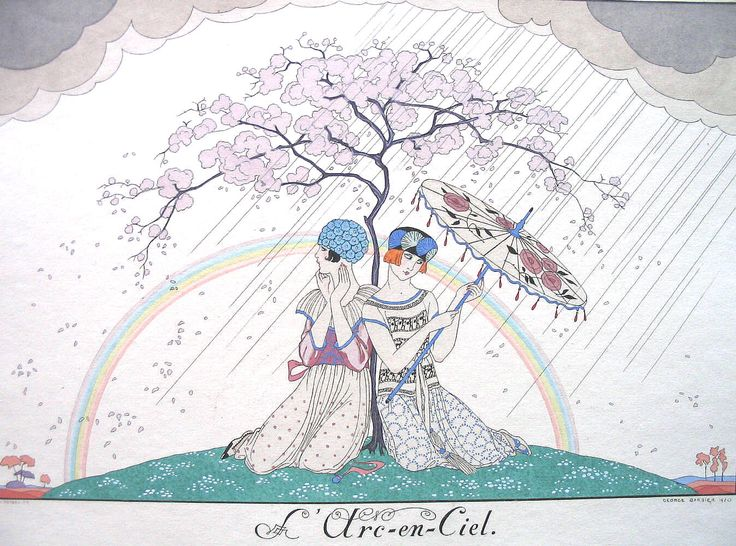 George Barbier 'L'arc-en-ciel'
