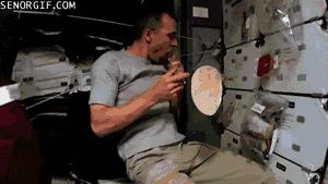 A burrito being made in space: | 21 Things You've Never Seen Before In Your Life