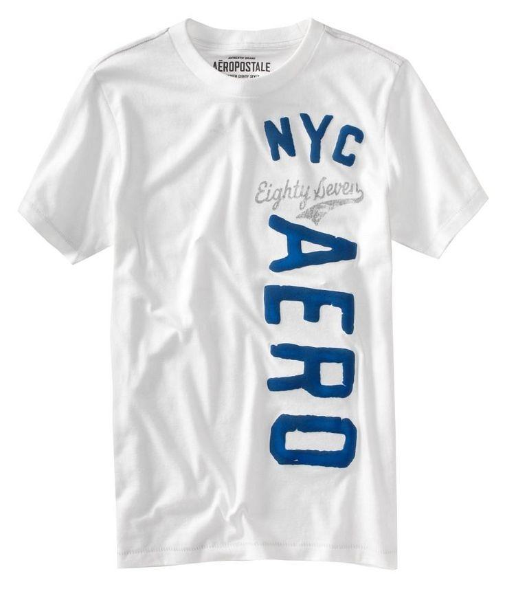 Aeropostale Shirts | Aeropostale mens NYC t shirt | The ...