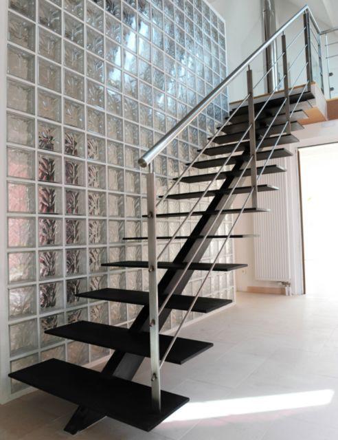 les 24 meilleures images du tableau escaliers limon. Black Bedroom Furniture Sets. Home Design Ideas