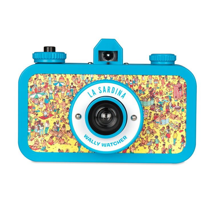 My design inspiration: La Sardina Wally Watcher on Fab.