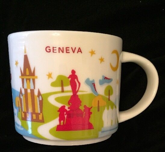 Starbucks Statue Lake Switzerland Clock Park Are Geneva Mug Yah You IWebEH29YD