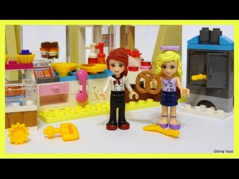 Lego Friends 41006 Downtown Bakery PART 2 - Лего Френдс Центральная Конд...