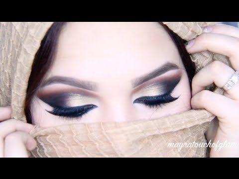 Arabic Makeup Tutorial - YouTube