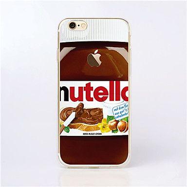 För+iPhone+5-fodral+Mönster+fodral+Skal+fodral+Tecknat+Mjukt+TPU+för+iPhone+SE/5s/5+–+SEK+Kr.+28