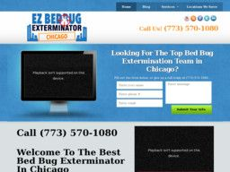 New listing in Pest Control Services added to CMac.ws. EZ Bed Bug Exterminator Chicago in Chicago, IL - http://pest-control-services.cmac.ws/ez-bed-bug-exterminator-chicago/19240/