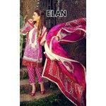 Elan Beautiful pakistani suit Pink