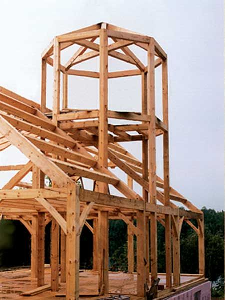 Gillis & Company | The Octagonal Tower | no pictures of completed house but like the tower