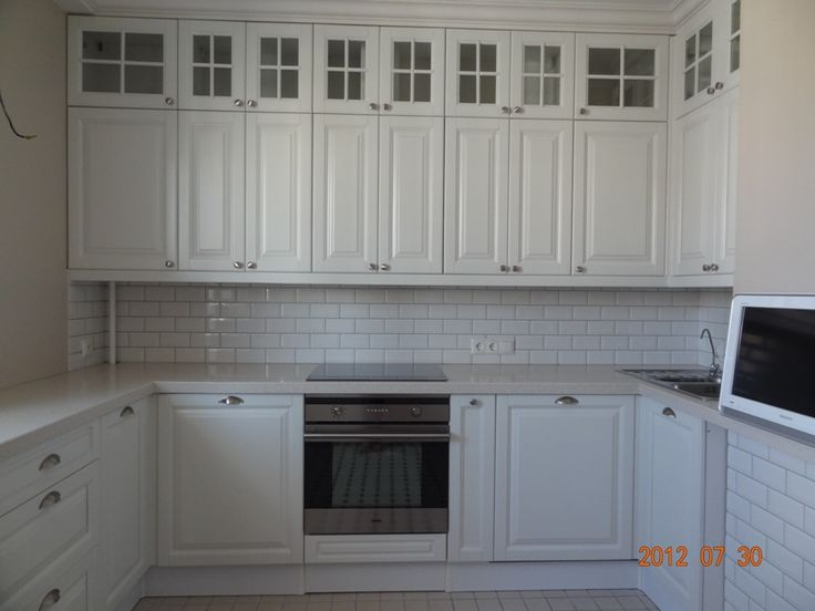 white kitchen ikea