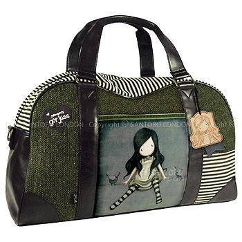 Gorjuss Wool Weekend Bag