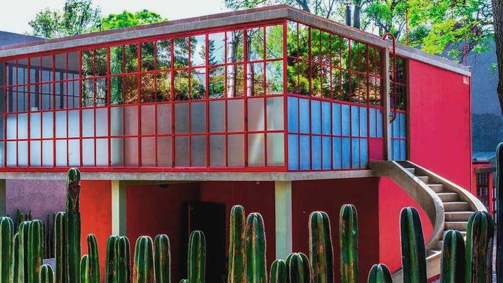 El Museo Casa Estudio Diego Rivera y Frida Kahlo en México DF.