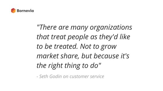 Because it's the RIGHT thing to do! #customerservice #organization #marketshare