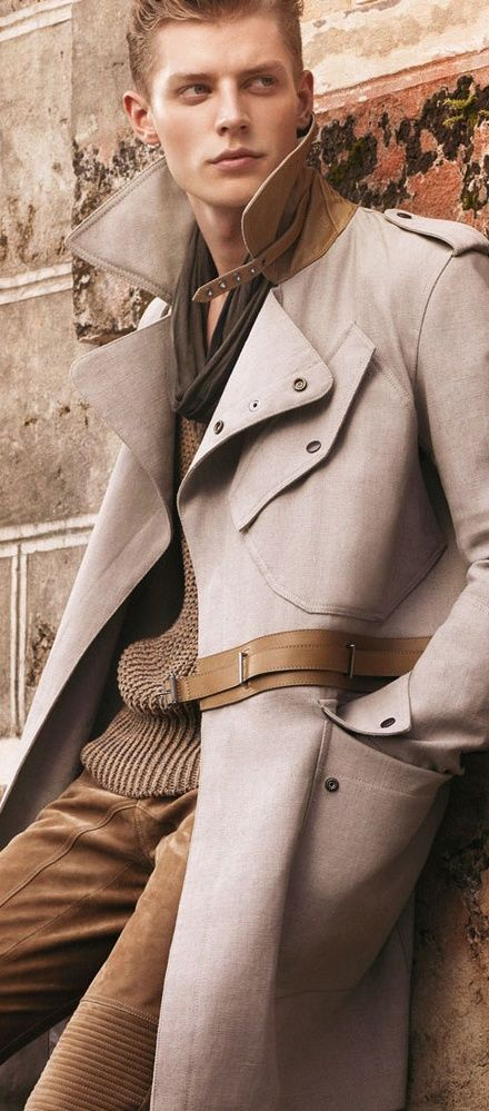 Belstaff Spring/Summer 2013 suede and fabric