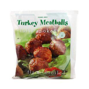 Frozen Turkey Meatballs