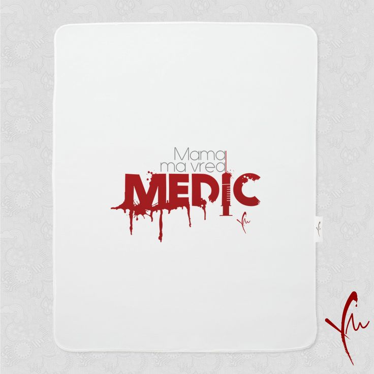 Sanatate! Paturica cu text imprimat: Mama ma vrea Medic O gasiti la http://ya-ma.ro/produs/mama-ma-vrea-medic-paturica/