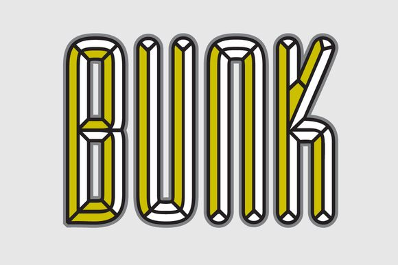 BUNK Layer Kit Font Pack $PECIAL$$ by AdultHumanType on Creative Market