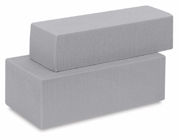 "Carve-able foam - 4""x6""x12"" for hammer - could cut horizontally and then sliced - for about 20 hammer tops per block?  $8.99"