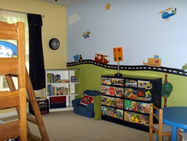 Transportation Toddler Room
