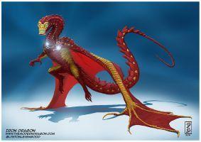 Iron Dragon by LyntonLevengood