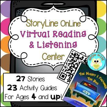 Storyline Online, Virtual Reading, Listening, QR Codes, Technology