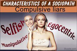 Characteristics of sociopaths