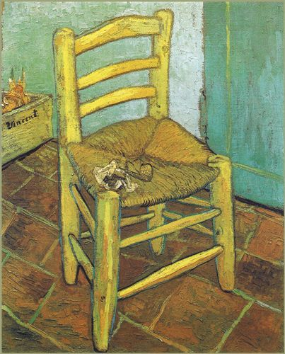 La sedia di Vincent - 1888 - Van Gogh - Opere d'Arte su Tela - Listino prodotti - Digitalpix - Canvas - Art - Artist - Painting
