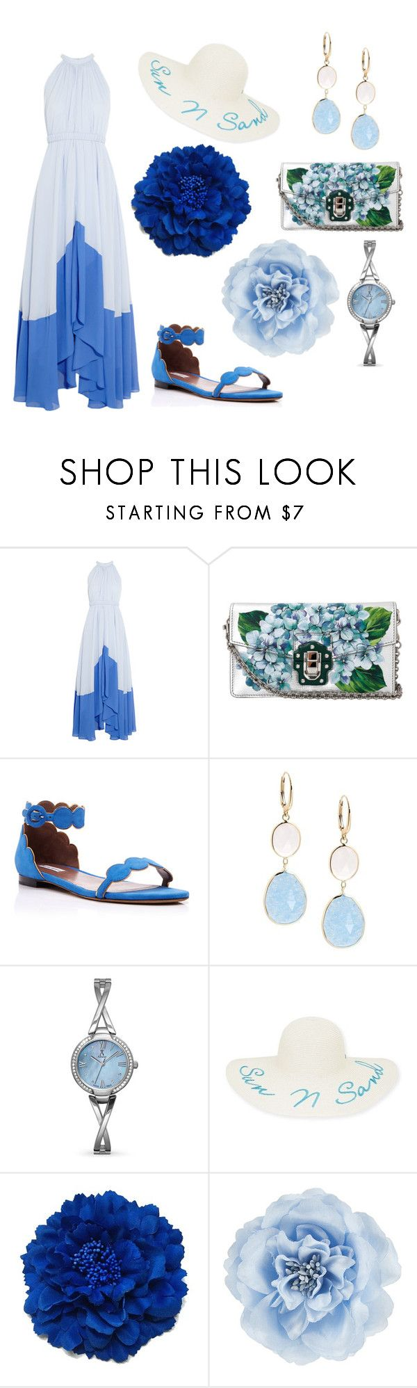 """""""Untitled #31"""" by mecho-puh ❤ liked on Polyvore featuring Saloni, Dolce&Gabbana, Tabitha Simmons, Saks Fifth Avenue, Allurez, New Directions and Monsoon"""