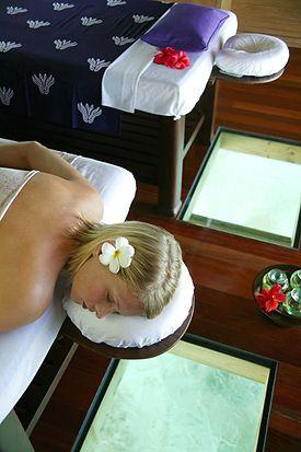 Aloe Vera Cocoon at Meeru Island Resort