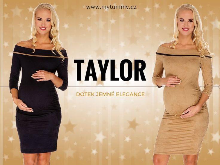 NOVÁ KOLEKCE PODZIM/ZIMA 2016/2017  Inspirované sofistikovanou elegancí, stvořené pro krásu těhotenství :-) Tak bychom mohli představit naší další novinku - těhotenské šaty TAYLOR, které jsme naskladnili ve dvou lákavých barvách. Které se vám líbí víc? Antracitové nebo velbloudí? ;-)  http://mytummy.cz/tehotenske-saty-taylor-antrarcitove.html http://mytummy.cz/tehotenske-saty-taylor-camel.html