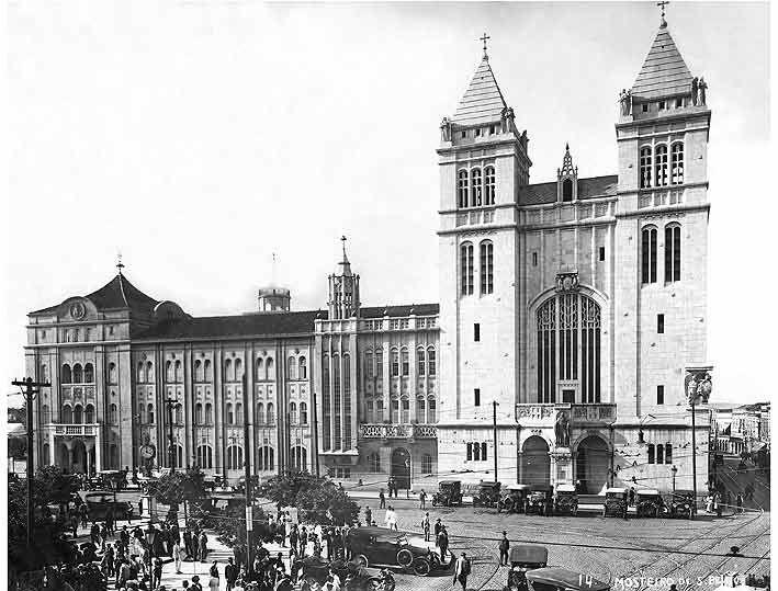Mosteiro de São Bento, São Paulo - SP (1920)