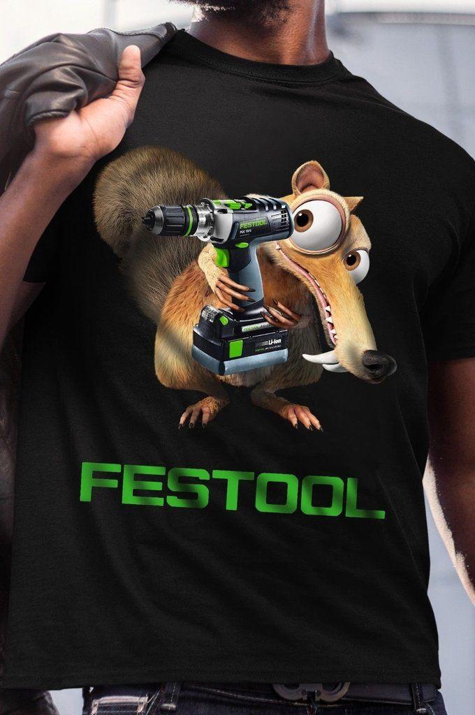 2ccc2e46373e Festool Funny Men's T-Shirt Tractor Tool   https://yongfish.com ...