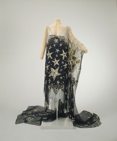 """Starry Night"" fancy dress, 1926, Hillwood Estate by magicalcrayons"