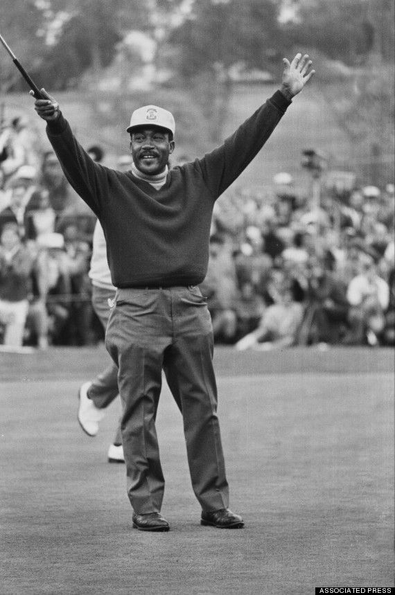 A proud man who endured racial taunts and threats, Sifford set modest goals and achieved more than he imagined.  Sifford challenged the Caucasian-only clause and the PGA rescinded it in 1961. He won the Greater Hartford Open in 1967 and the Los Angeles Open in 1969. He also won the 1975 Senior PGA Championship, five years before the Champions Tour was created.