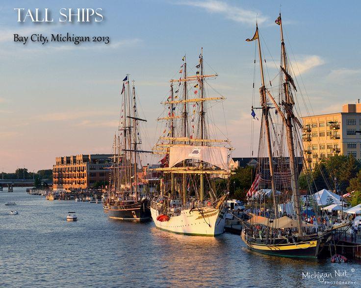 Tall Ships Festival, Bay City, Michigan