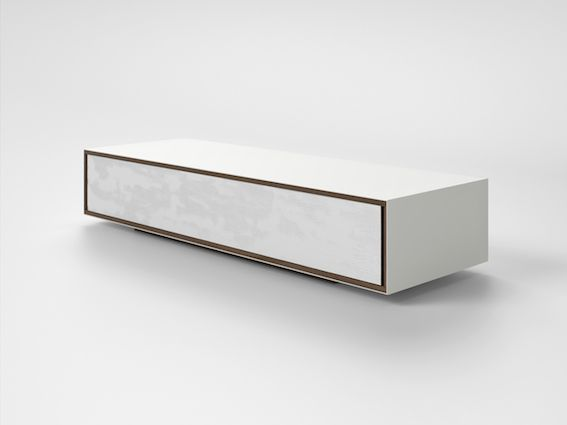 London - Ivory Collection #engravings #corian #container #design #interior